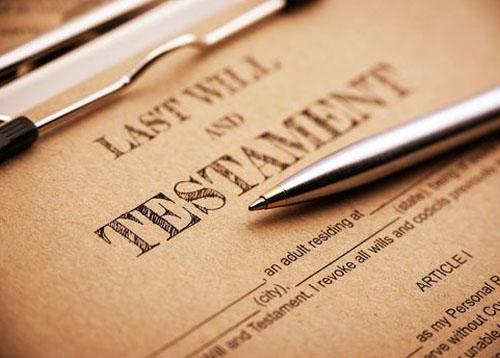 Wills, estates and trusts
